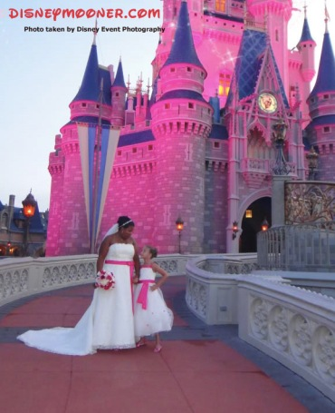 Magic Kingdom Bridal Shoot