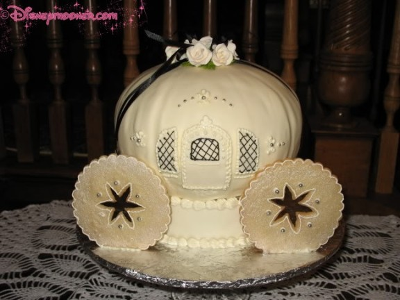 Cinderella shower cake